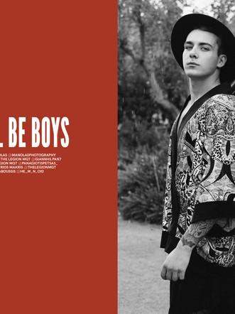 Giannis Pan.&Panagiotis Petsas: Editorial for GMARO Magazine