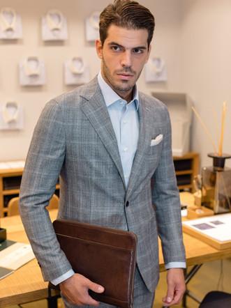 Jorgos Makris - lookbook for Truman - Gentlemens Clotheriers