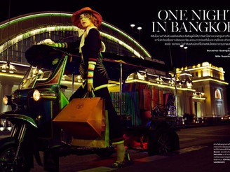 One night in Bangkok - find Amalia in L´Officiel! #bangkok #lofficiel #editorial