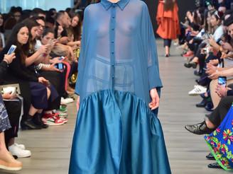 Denisa in Mercedes Benz Fashion Week Mexico <3