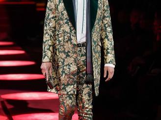 Milan Men´s FW: Evans&Panagiotis walking Dolce&Gabbana
