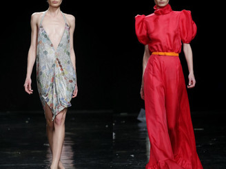 Amalia&Magda for Celia Kritharioti during Paris FW!