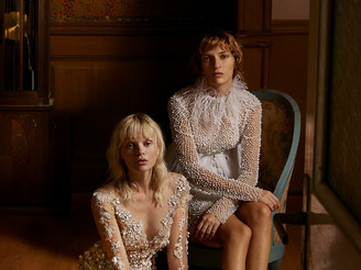 Stamatina and Suzanna: Campaign for Celia Kritharioti FW 18/19