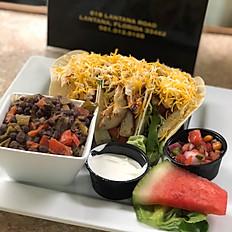 Fish, Chicken, Beef, or Pork Tacos