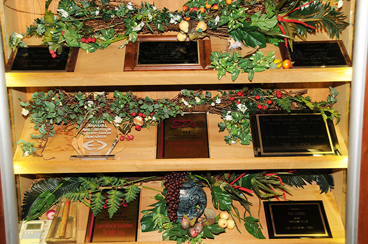 The Lodge Trophy Case