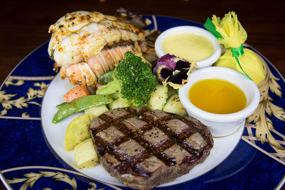 The Lodge Signature Steak and Lobste