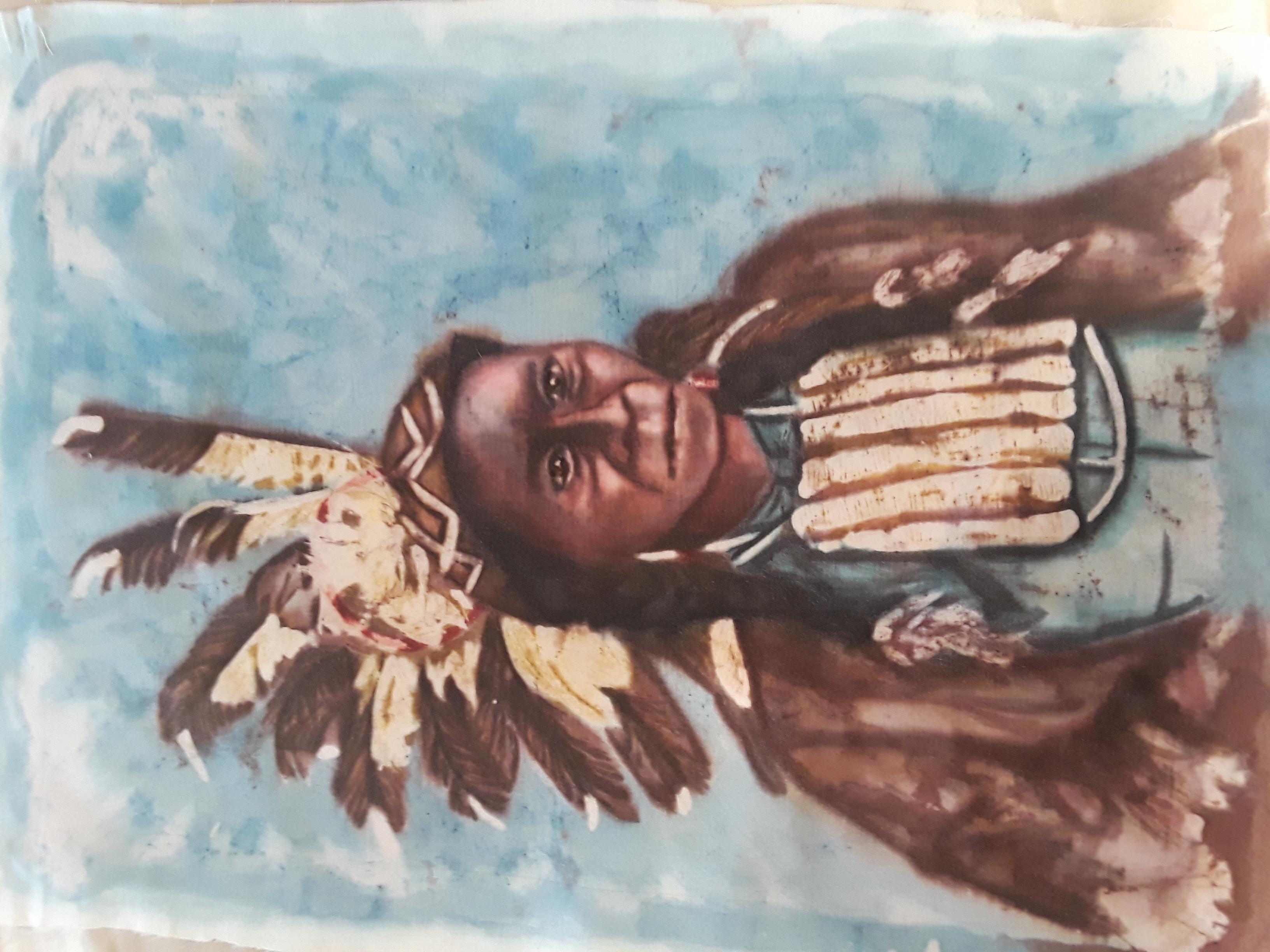 blue apache