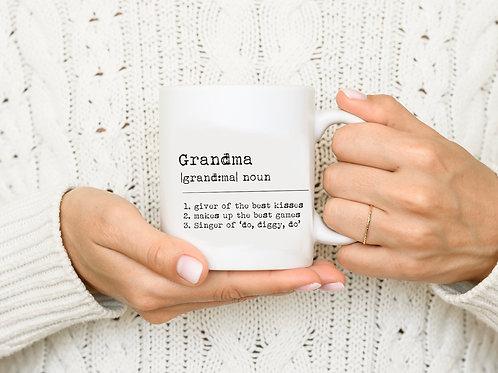 Dictionary Personalised Mug