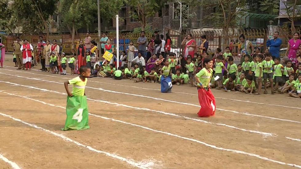 Sports Day : Sack Race