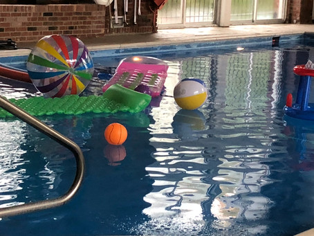 """""""a swimming pool party"""""""