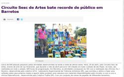 Circuito Sesc de Artes 2018