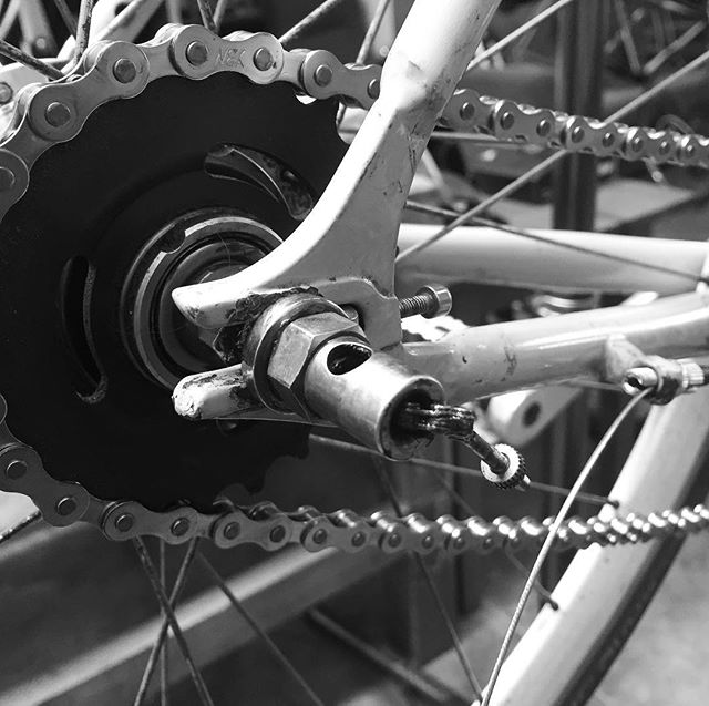 Sturmey 3 speed getting some love and cables