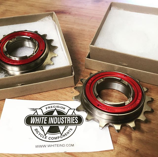 Finally in stock. Beautiful White Industries freehubs