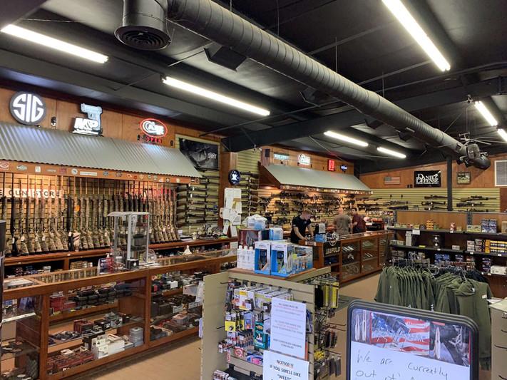 Gun store sales increase during COVID-19 pandemic