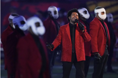 "The ""Blinding Lights"" of the Weeknd's Super Bowl halftime show"