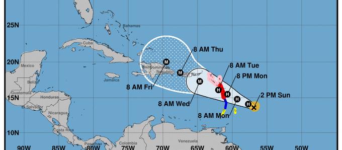 Maria strengthens to category 5 hurricane
