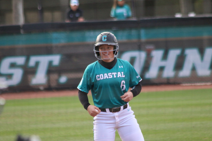 CCU softball sweeps competition in the 2020 'Residence Inn Battle at the Beach'