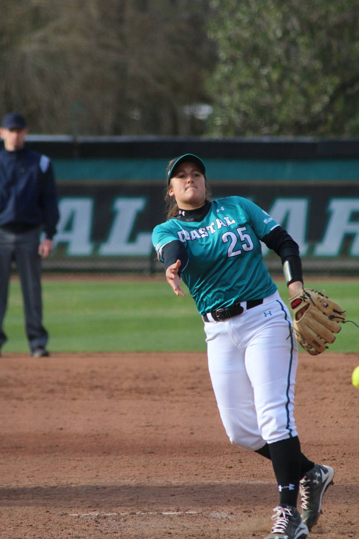 CCU softball dominates in 2020 Ripley's Chanticleer Showdown