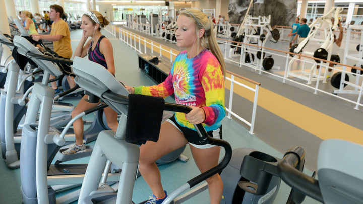 HTC Center's gym initializes new dress code policy