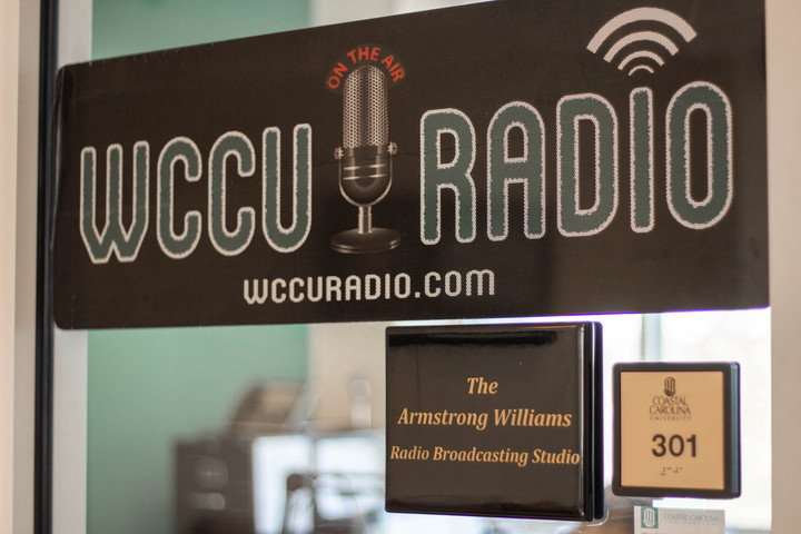 Students can host their own radio show on WCCU