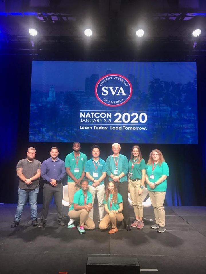 Student Veteran Association attends NatCon