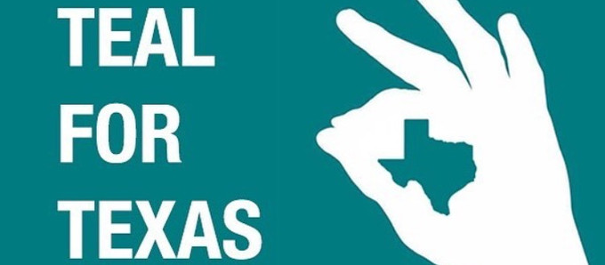 Teal for Texas