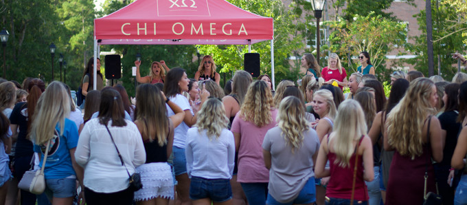 Gallery: Chi Omega joins CCU