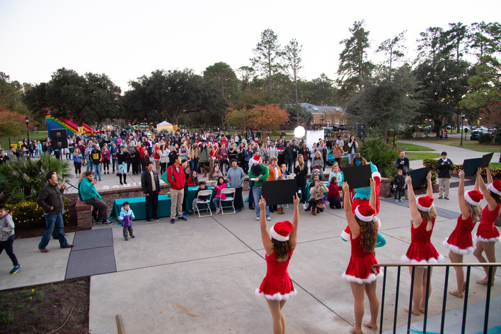 Annual holiday park lighting to take place at CCU