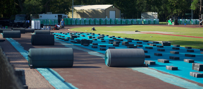 Gallery: CCU's track goes teal