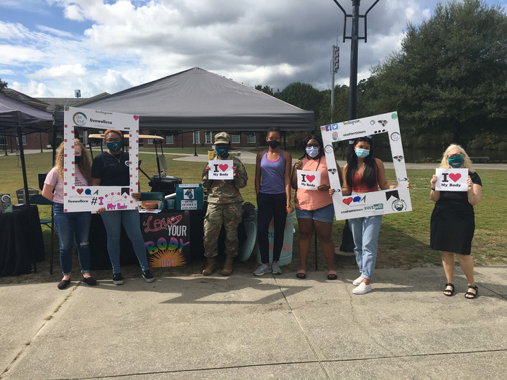 Love Your Body Day takes place on Prince Lawn