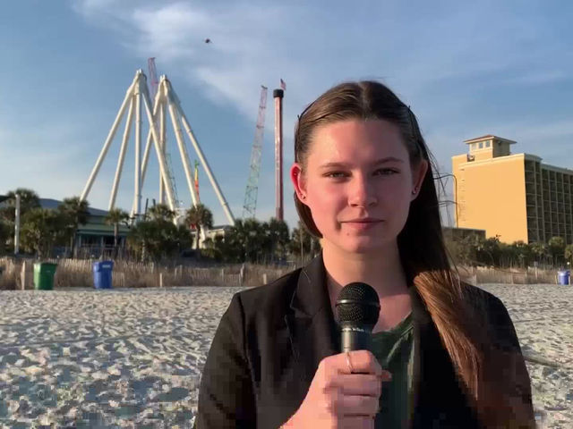 Renovations being made to Sky Wheel in Myrtle Beach