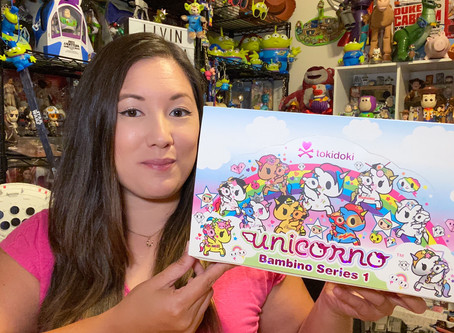 Video: Tokidoki Bambino Unicornos!