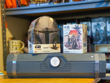 The Mandalorian Topps Trading Cards!