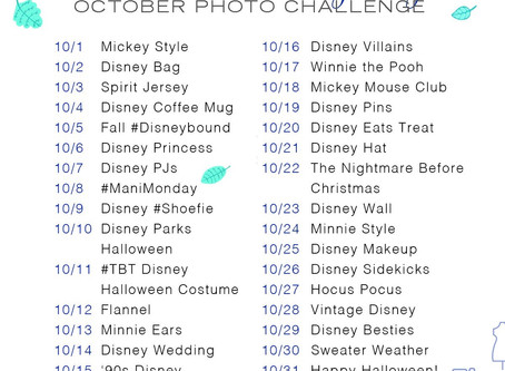 Disney Style's Fall Photo Challenge!