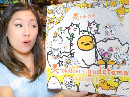 Video: Tokidoki x Gudetama Series 1!