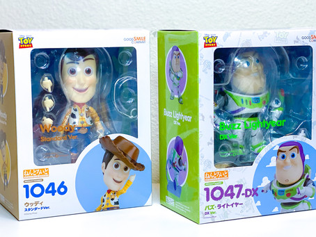 Video: Woody & Buzz Lightyear Nendoroids!