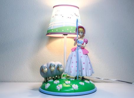 Toy Story Bo Peep Lamp!