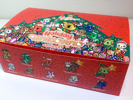 Video: Tokidoki Unicorno Holiday Series 1!