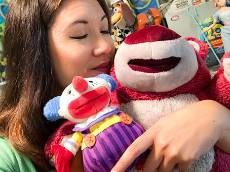Toy Story Special Edition Lotso Talking Plush & Chuckles the Clown Plush Unboxing Video!