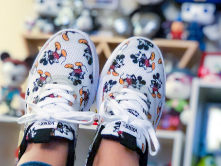 Mickey Mouse Vans!