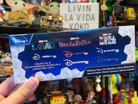 Marvel Disney + Mystery Keys Unboxing!