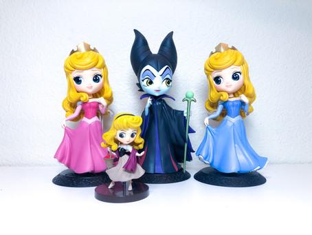 Sleeping Beauty Qposkets - Photos & Unboxing Video!