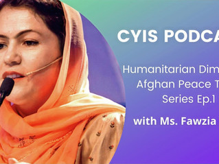 Afghan Peace Talks Series - Ep.1: Interview with Ms. Fawzia Koofi