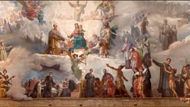 La cupola maggiore della Basilica di Maria Ausiliatrice