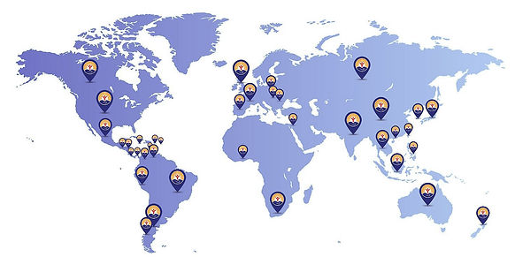 UW Worldwide Map