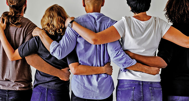 Group of People Hug