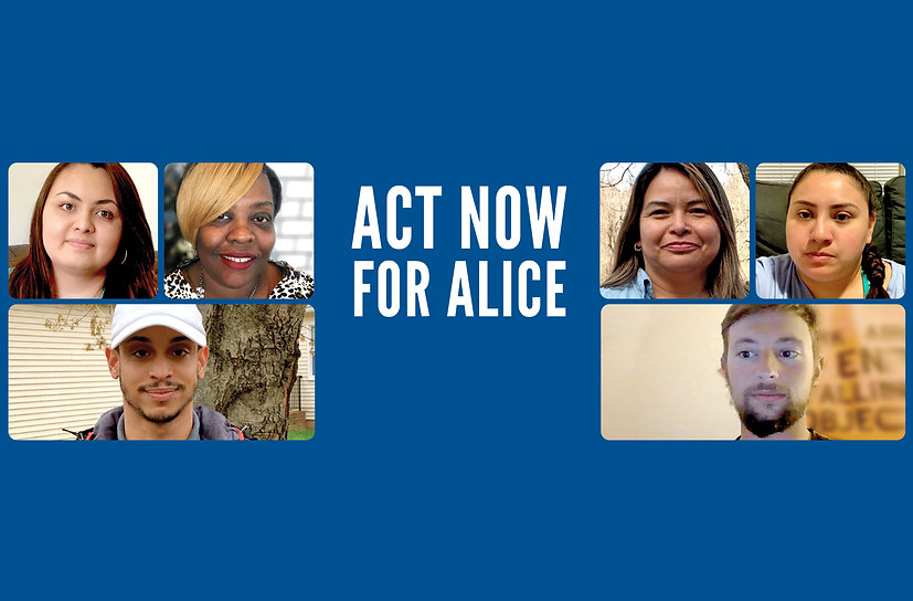 Act Now For ALICE