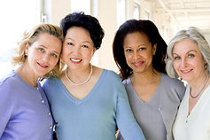 Mixed Ethnic Women Group
