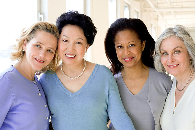 Mixed Group of Ethnic Women
