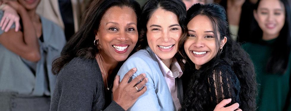 3 ethnic women